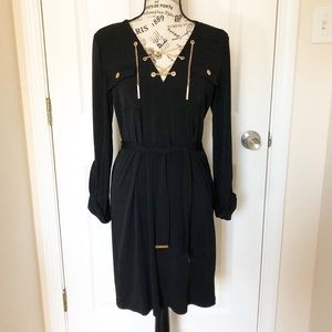 Michael Kors Black Chain Dress